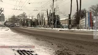 23.01.2016 В Севастополь пришла снежная зима