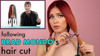 I Try Brad Mondos Hair Cut On Myself