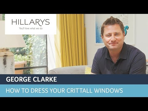 How to dress your windows with George Clarke and curtains