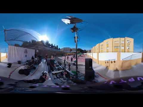 Grupo musical tyrell corporation en el Festival Ampatízate en directo/ 360º