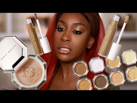 Download Has FENTY Done It Again?! Pro Filt'r Concealer & Setting Powder Review | Jackie Aina HD Mp4 3GP Video and MP3