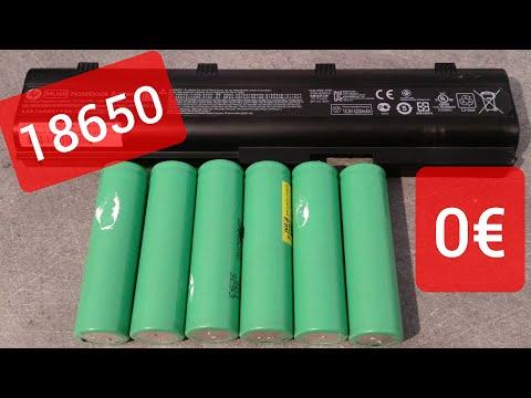 Comment Récupérer Gratuitement des Batteries au Lithium 18650