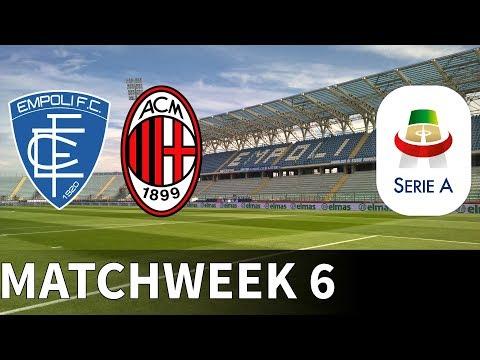 Empoli vs AC Milan - 2018-19 Serie A - PES 2019