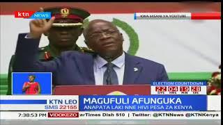 Rais wa Tanzania Pombe Magufuli afichua mshahara wake ya dola elfu nne na mia nane