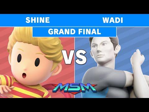 MSM 186 - Mazer | ShiNe (Lucas) vs AG | WaDi (Wii Fit Trainer) Grand Final - Smash Ultimate