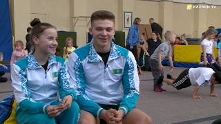 Амоскин и Долганюк - чемпионы мира по спортивной акробатике