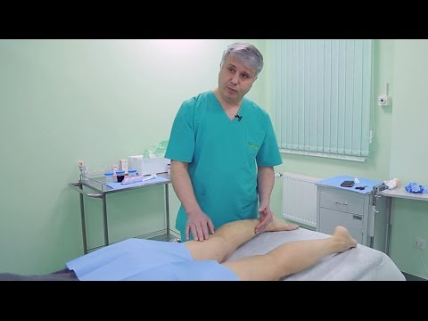 Fitness cu varicose foot video