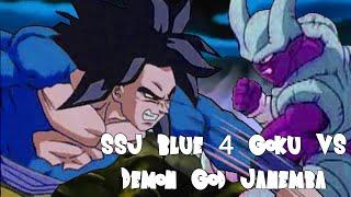 SSGSS4 Goku vs Demon God Janemba (SSGSS4 孫 悟空 VS 悪魔神ジャネンバ)