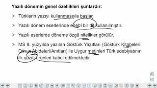 Eğitim Vadisi AYT Edebiyat 1.Föy Edebiyata Giriş 2 Konu Anlatım Videoları