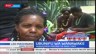 Kundi la wamama Nakuru waungana kuonyesha ubunifu kwa kutengeneza mikoba aina nyingi