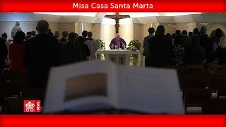 Papa Francisco-Misa Casa Santa Marta 2020.03.29