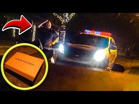 POLÍCIA ME PAROU POR ACHAR ALGO VALIOSO NO LIXO DOS EUA