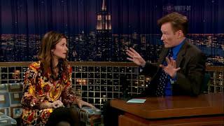 Jill Hennessy - Conan O'Brien 12-01-2007