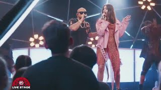 Sean Paul   No Lie Feat. Dua Lipa (On MTV LIVE STAGE)