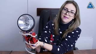 Фара осветительная Мотор Сич от компании ПКФ «Электромотор» - видео