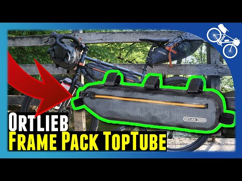 Ortlieb Frame Pack Toptube Test Deutsch - Ortlieb Bikepacking Taschen Erfahrung - Rad Rahmentasche