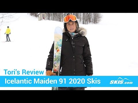 Video: Icelantic Maiden 91 Skis 2020 21 50