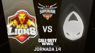 MAD LIONS E.C. VS X6TENCE | Superliga Orange COD | (Jornada 14)