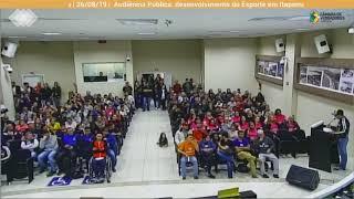 Audiência Publica Incentivo ao Esporte