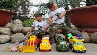 Trò Chơi Đi Săn Xe & Kẹo ❤ ChiChi ToysReview TV ❤ Đồ Chơi Trẻ Em Baby Doli Song