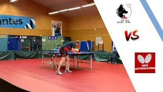 NANTES ST MEDARD DOULON vs LILLE METROPOLE | NATIONALE 1 | TENNIS DE TABLE | HIGHLIGHTS