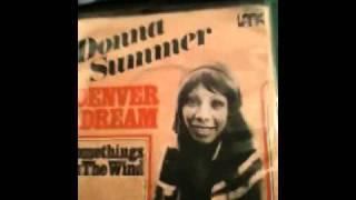 """Donna Summer """"Something' s back in the love wind again"""""""