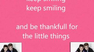 Keep Smiling Bars and Melody - Lyrics