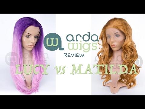 "Arda Wigs Review: ""Matilda"" Vs ""Lucy"""