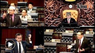 Dewan tegang! MP PAS label Guan Eng pondan, dihalau keluar dewan