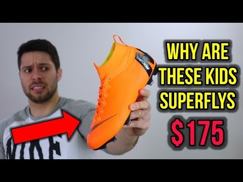 ARE $175 KIDS CLEATS WORTH IT? - JR Nike Mercurial Superfly 6 Elite - Review