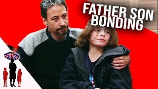 Father & Son Bonding Time In Gymnasium | Supernanny