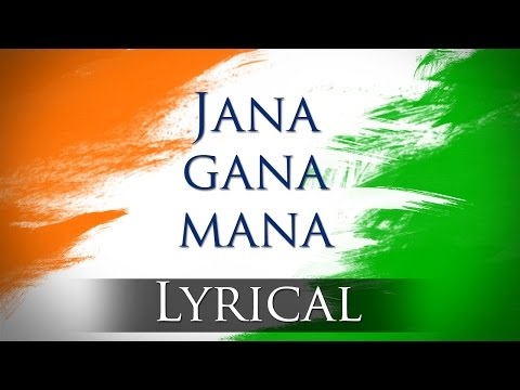 Jana Gana Mana (HD) - National Anthem With Lyrics - Best Patriotic Song