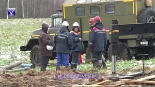 Авария на участке электросетей в Новополоцке. Что стало причиной обрушения опоры?