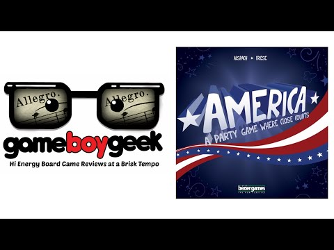 America - (Allegro - 2 min) Review with the Game Boy Geek