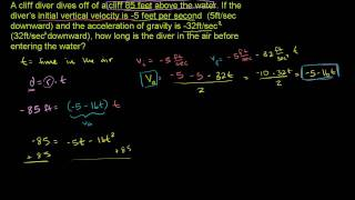 Applying Quadratic Functions 2