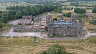 Riber Castle DJI Spark HD Video (Derbyshire Matlock)