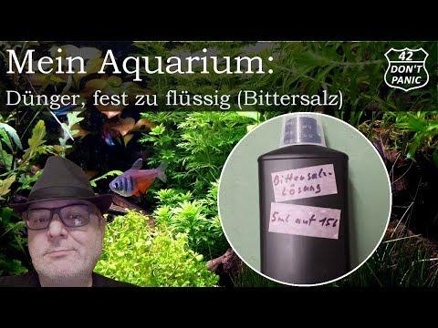 Dünger, fest zu flüssig (DIY) - Düngen mit Bittersalz   Mein Aquarium 39