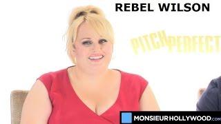 Rebel Wilson, Adam Devine, Fat Amy, interview, exclusive, talk, pitch perfect 2, teaser
