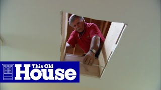 How to Install a Whole-House Fan | This Old House