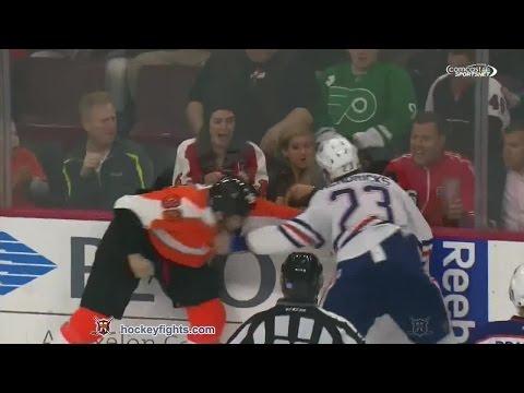 Matt Hendricks vs Zac Rinaldo