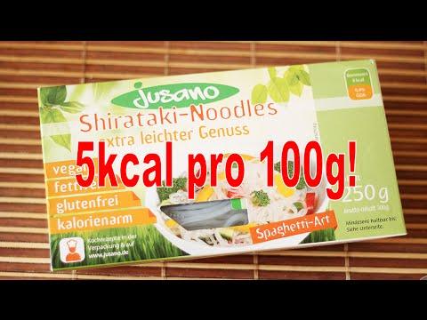 Shirataki-Nudeln - 5kcal pro 100g - Kaufempfehlung?