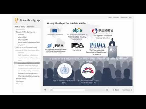 Good Manufacturing Practices Regulations - Online Course - YouTube