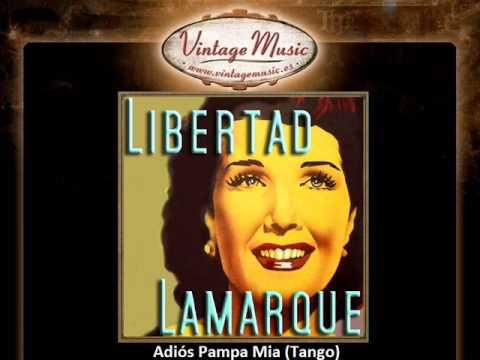 LIBERTAD LAMARQUE iLatina CD 128 Tangos , Adiós Pampa Mia