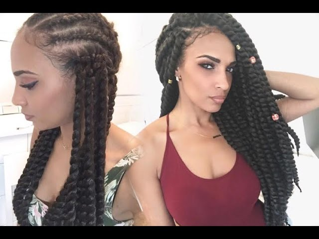 Mambo Twist Braid Pattern Hairstyle Inspirations 2018