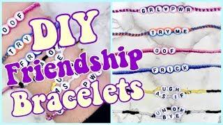 How To Make 3 EASY Friendship Bracelets! (VSCO Inspired, Adjustable!)