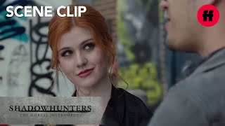 Shadowhunters | Season 1, Episode 5: Clary & Alec Meet with Simon