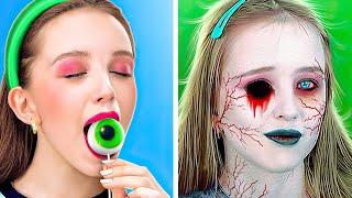 WAS, WENN DEINE BFF EIN ZOMBIE WÄRE! || Lustige Zombie-Streiche von 123 Go LIKE!