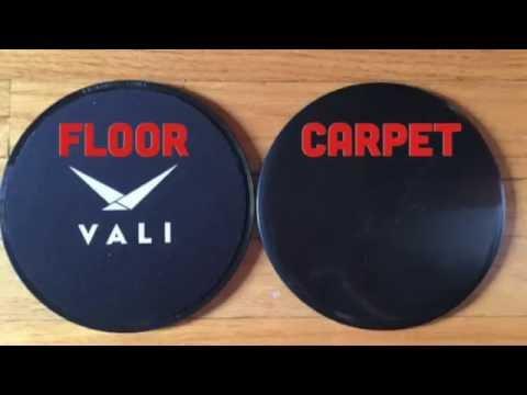VALI Core Sliders Exercise Gliding Discs
