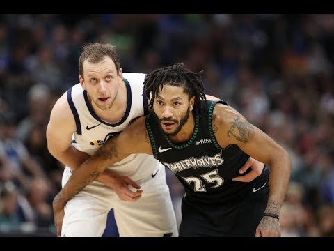 a439fce4764 Timberwolves  Derrick Rose Sets A Career-high With 50 Points. 1 November  2018
