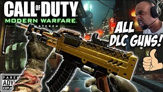 ALL DLC GUNS in CALL of DUTY MWR! 😈 Modern Warfare Remastered DLC Weapons LIVE